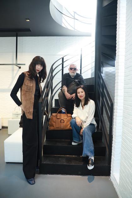 时尚创意人星期二小姐Yoyo, 设计师Jean Colonna与时装设计师杨芳