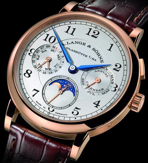 朗格1815系列年历腕表