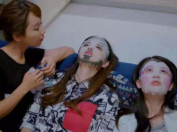 《欢乐颂》里三姐妹 江户时代面具面膜