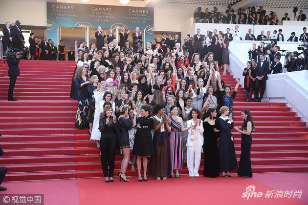台阶上的82位女电影人