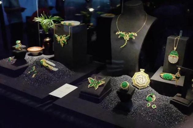 展品涵盖黄金珠宝、玉石首饰