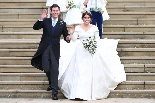 尤尼金公主(Princess Eugenie)与未婚夫Jack Brooksbank