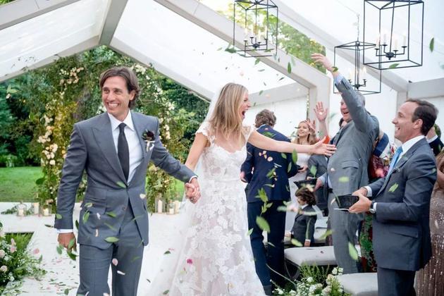 Gwyneth Paltrow & Brad Falchuk婚礼