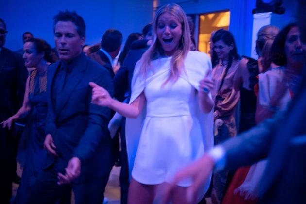Gwyneth Paltrow & Brad Falchuk婚礼afterparty