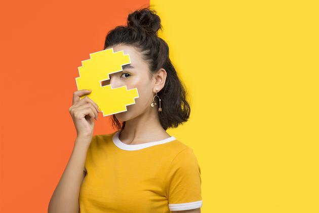 HEFANG × Pac-Man 吃豆人系列迷宫耳环