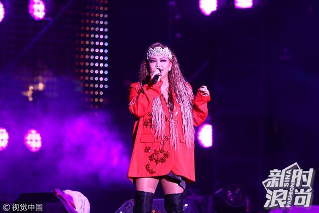 2018年12月31日,张惠妹献唱2019台北最High新年城跨年演唱会