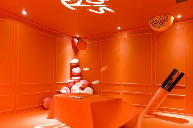巴黎欧莱雅小钢笔上瘾艺术展-卡路里主题区