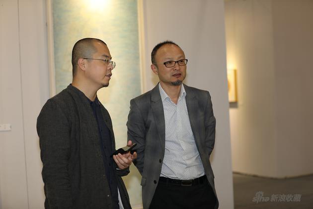 青艺博水墨板块策展人四川美术学院老师刘涛