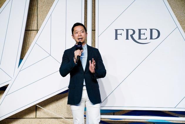 FRED斐登全球首席执行官Charles Leung讲话
