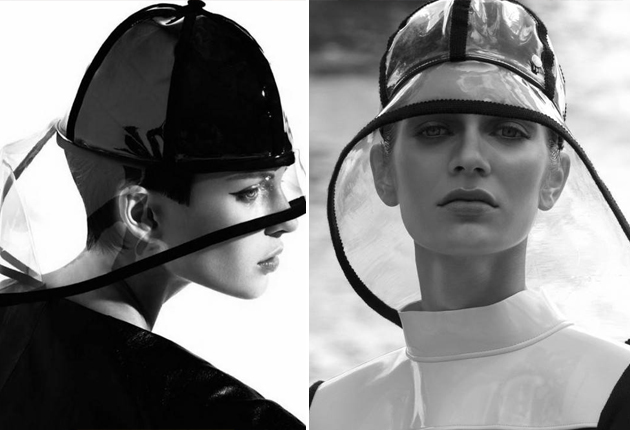 Wanda Nylon雨帽