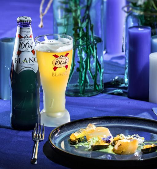1664携品牌好友何穗打造法式晚餐美学