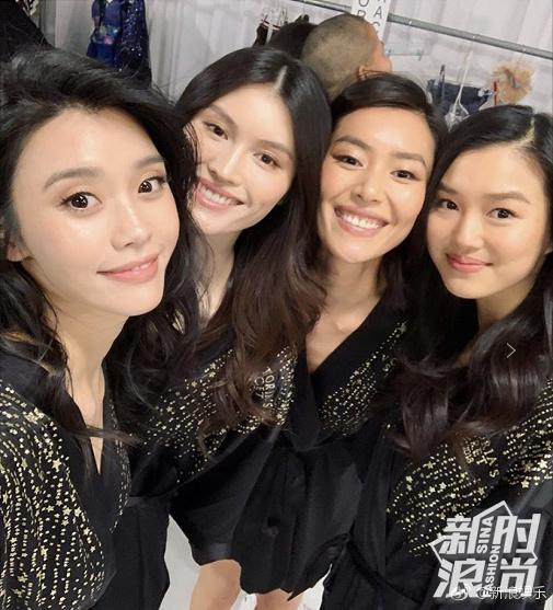 左起:奚梦瑶、何穗、刘雯、陈瑜