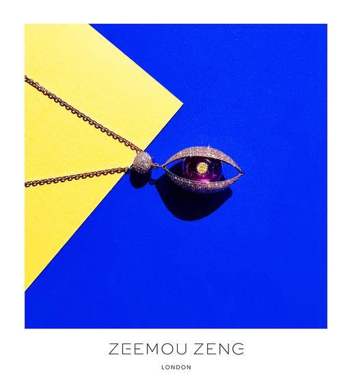 "ZEEMOU ZENG""眼""系列最新推出的吊坠"
