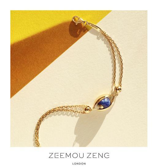 """ZEEMOU ZENG""""眼""""系列最新推出的手链"""