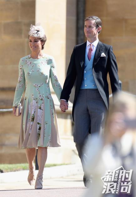 Pippa Middleton wearing Lancer