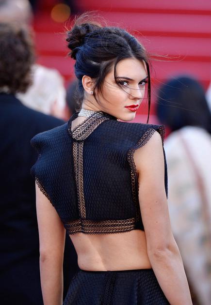 肯达尔·詹娜 (Kendall Jenner)红唇造型