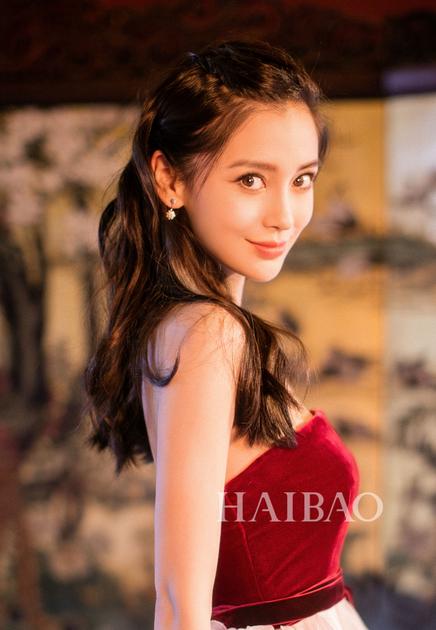 杨颖长发发型