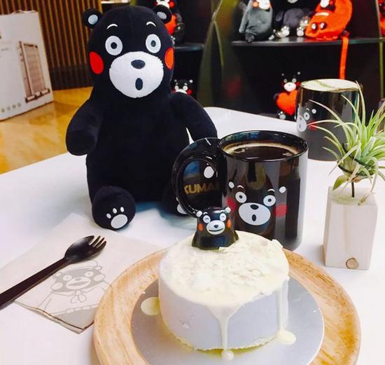 北京熊本熊咖啡店甜点