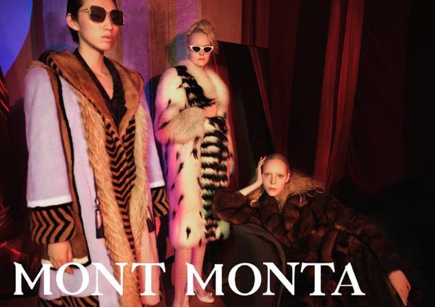 艺术交汇 风格之巅-Mont Monta 2019秋冬系列Mont Monta秋冬系列皮草