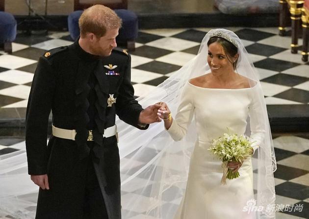 英国哈里王子和梅根-马克尔于今年5月19日大婚