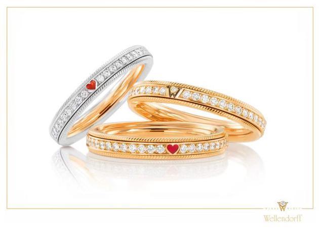 华洛芙125周年纪念限定款旋转指环