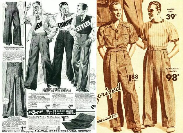 阔腿裤成就多变风格