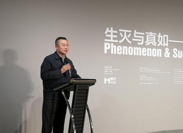 海淀区委宣传部部长张劲林致辞