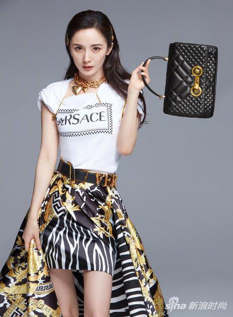 杨幂最新Versace代言广告大片