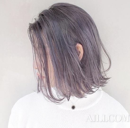 紫色调头发