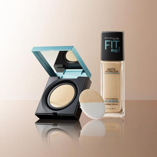 6. Yummy shot-fit me foundation and cushion