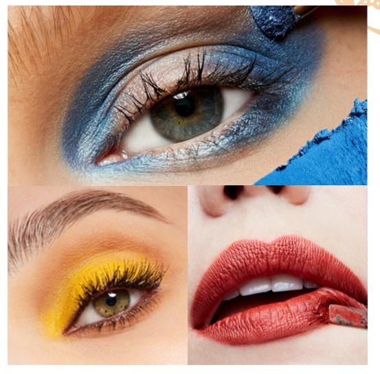 """将敦煌的色彩""""妆""""在脸上 如何能日常出街潮到没有违和感"""