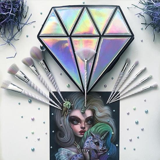 Unicorn Cosmetics独角兽化妆刷