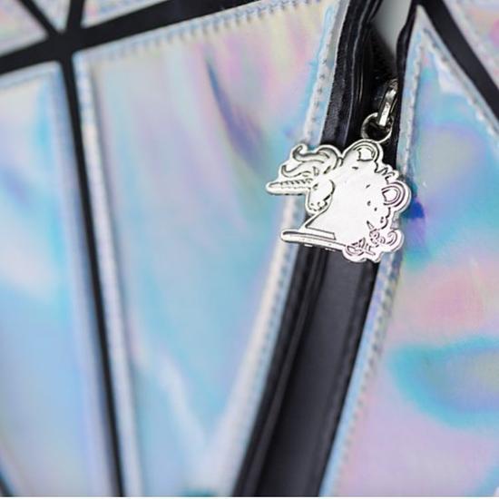 钻石包独角兽拉链