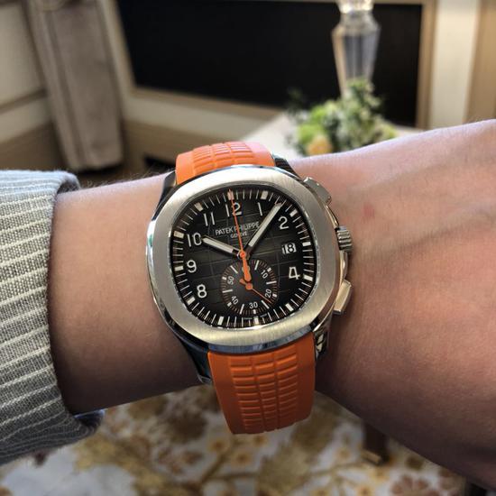 这枚5968也是小编今年最为喜爱的一枚百达翡丽腕表