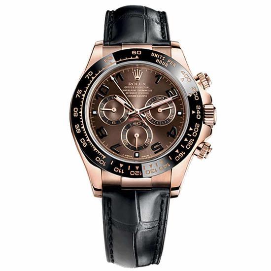 勞力士宇宙計型迪通拿116515 玫瑰金錶殼