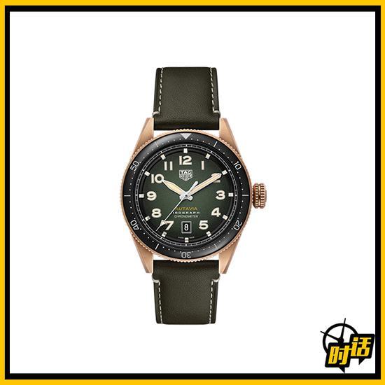 泰格豪雅Autavia系列青铜腕表