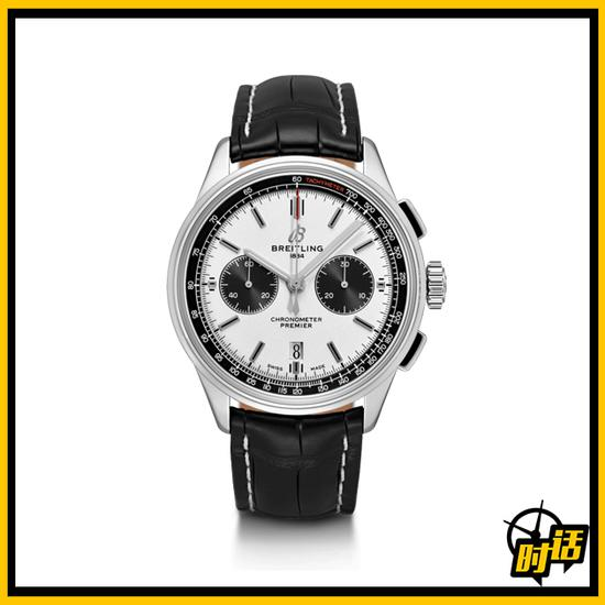 百年灵璞雅系列B01精钢计时腕表