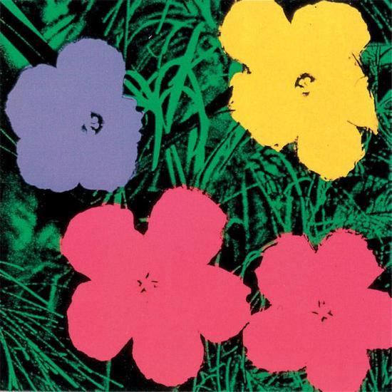 安迪•沃霍尔,鲜花,1970年,丝网印刷,91.4 x 91.4厘米© The Andy Warhol Foundation for the Visual Arts Inc. by VEGAP 2021