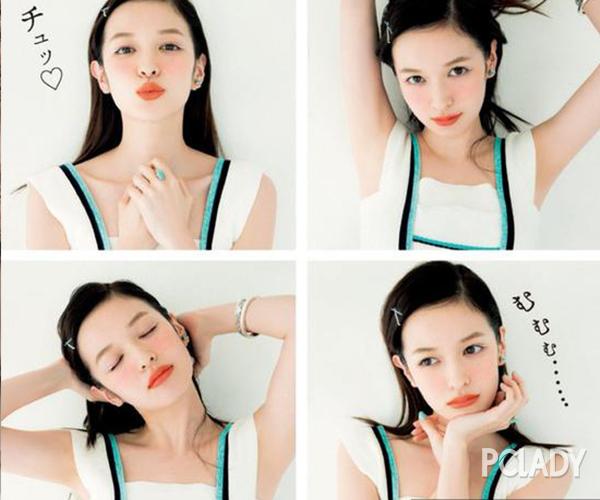 """雜志界寵兒森繪梨佳 她的少女風是""""妝""""出來的"""