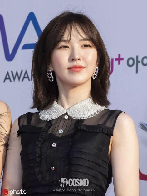 Wendy短发