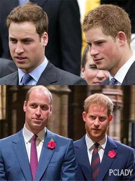 英国皇室威廉和哈里