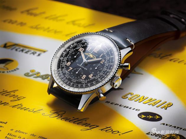 01_百年灵航空计时806型腕表1959复刻版