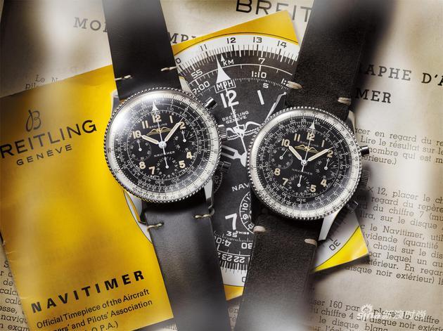 02_百年灵航空计时806型腕表1959复刻版和1959年原版百年灵航空计时806型腕表