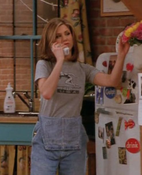 Rachel牛仔穿法