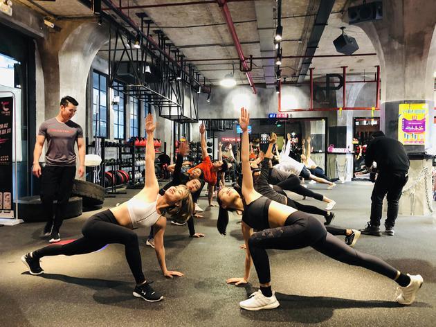 健身行业升级 练呗携手天猫双11引燃全国百店