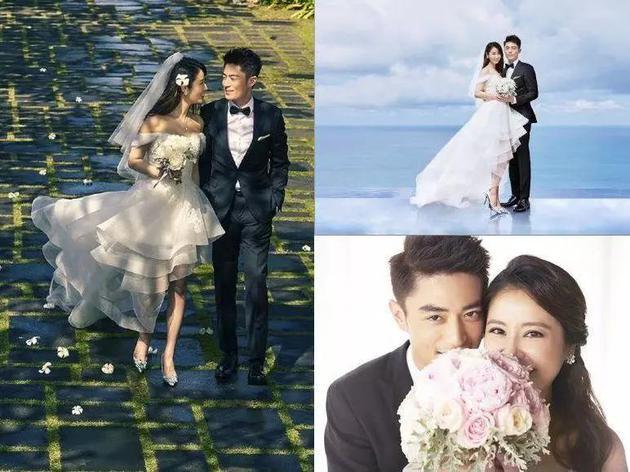 """林心如和霍建华的巴厘岛宝格丽""""无边水台""""婚礼,也是美cry的典型~"""