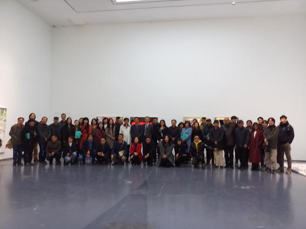 美术馆北京创作中心驻馆艺术家作品展