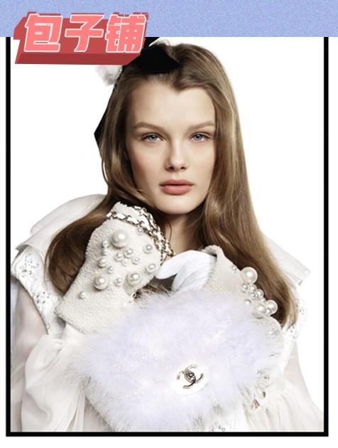 Chanel毛绒包3