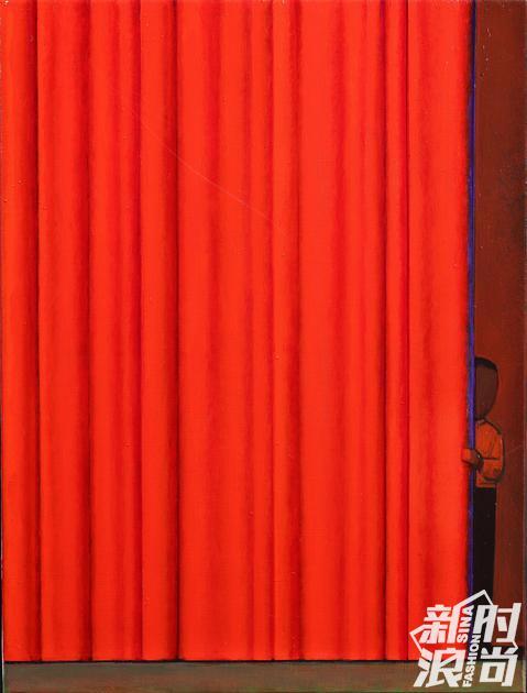 "Prada荣宅刘野个展""寓言叙事""作品:刘野,序幕,2018 _ 艺术家提供私人收藏。摄影:曹勇"