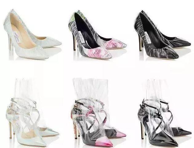 pvc高跟鞋单品